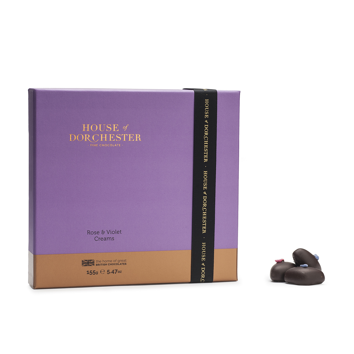 Rose & Violet Chocolate Box image
