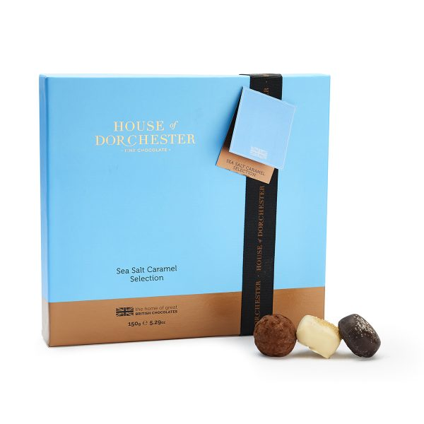 Sea Salt Caramel Chocolate Selection image