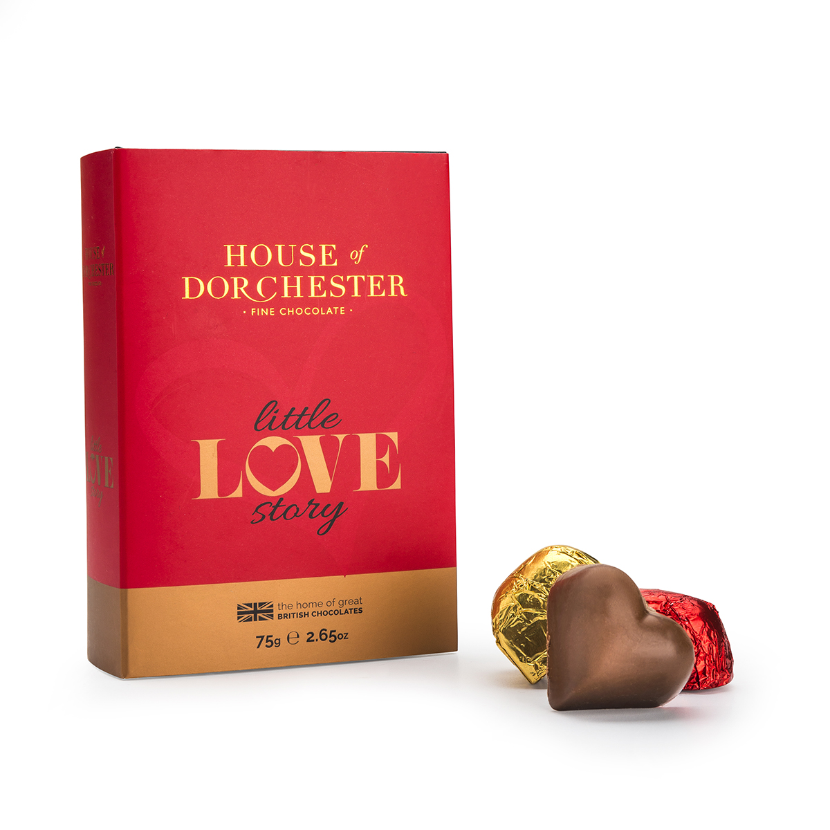 Caramel Love Hearts Book Box image