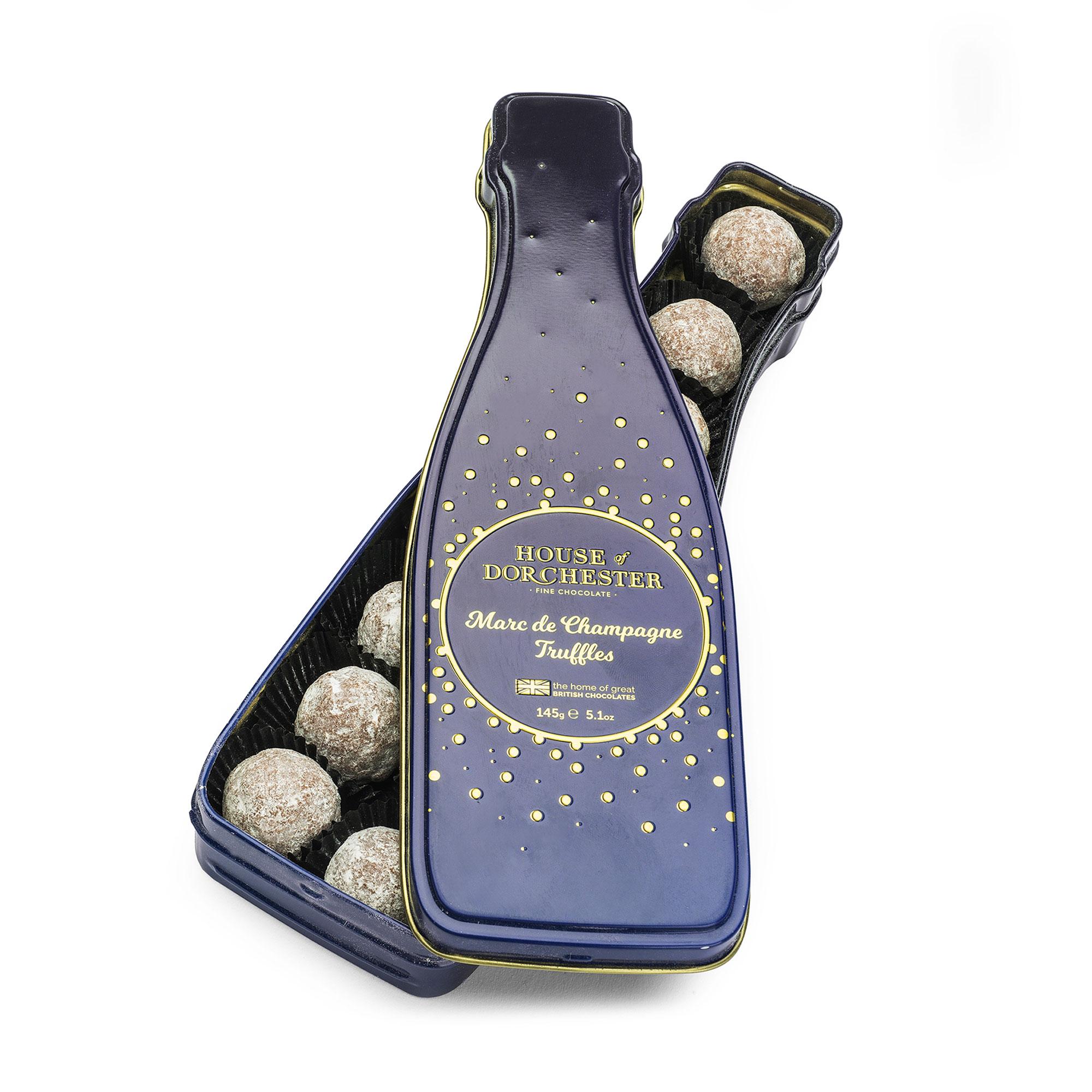 Marc de Champagne Truffles tin