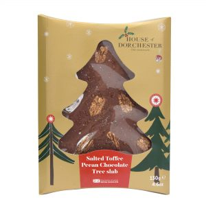 Salted Toffee Pecan Milk Chocolate Tree slab