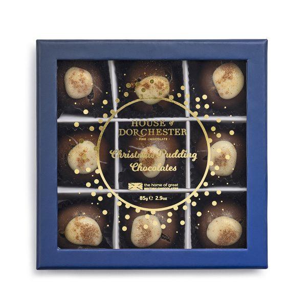 Christmas Pudding Chocolates