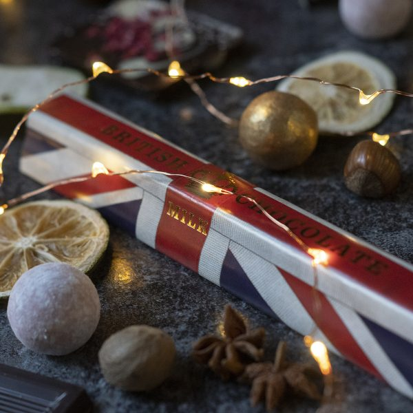 Union Jack Milk Chocolate Bar