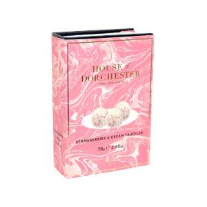 House of Dorchester Strawberries and Cream Truffles Book Box