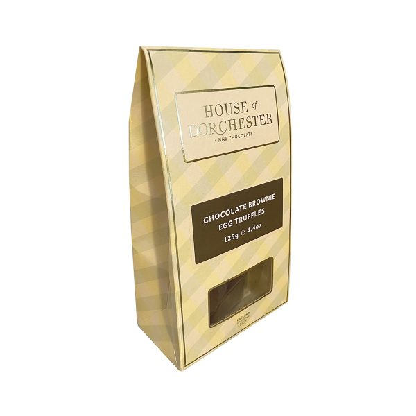 House of Dorchester Chocolate Brownie Egg Truffles