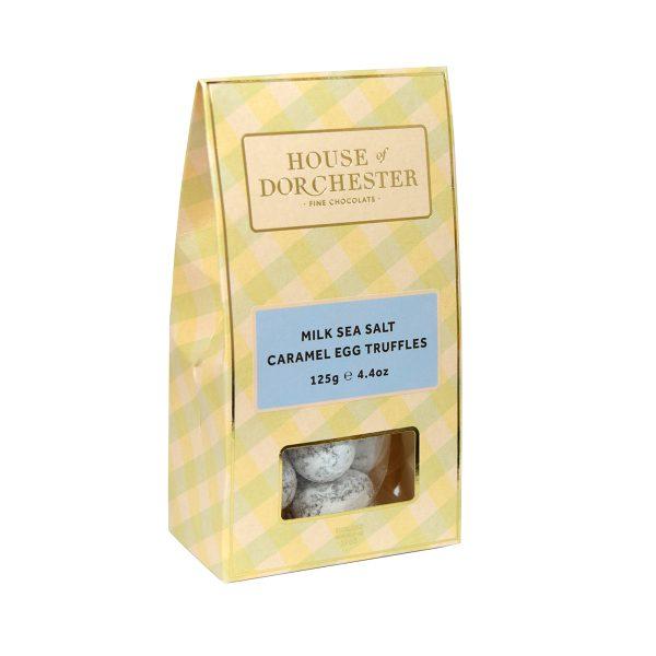 House of Dorchester Milk Sea Salt Caramel Egg Truffles